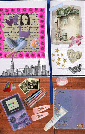 the girl who makes homemade mood boards