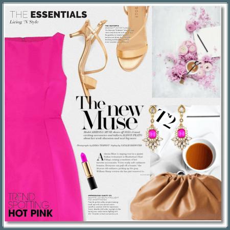 Trend-spotting: Hot pink