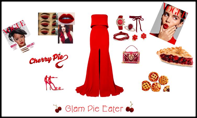 Glam Pie Eater