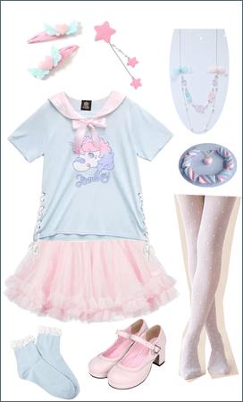 Casual summer fairy kei