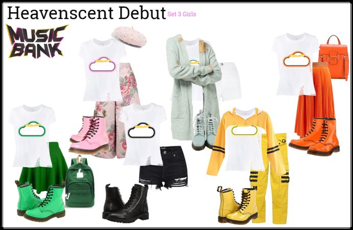 Heavenscent Debut | Set 3 Girls Outfit