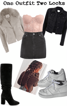 One Outfit Two Looks