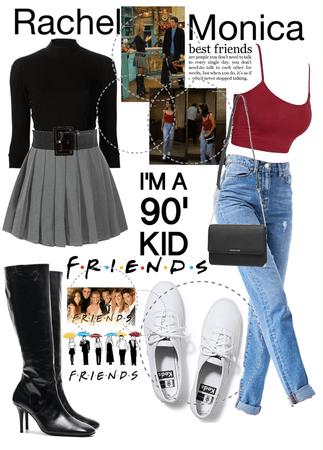 90s Rachel N Monica