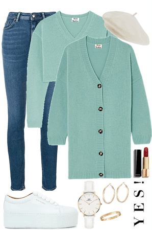 how to style a cardigan at fall