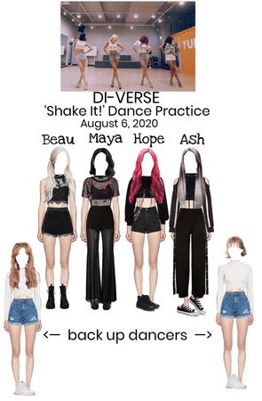 DI-VERSE 'Shake It!' Dance Practice