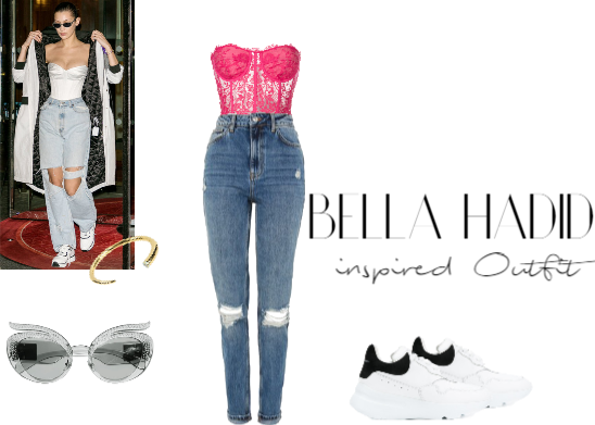 Bella Hadid inspired Outfit #2