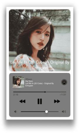 /HA-YOON/ Spotify Let Me In (20 Cube) - Original By Enhypen