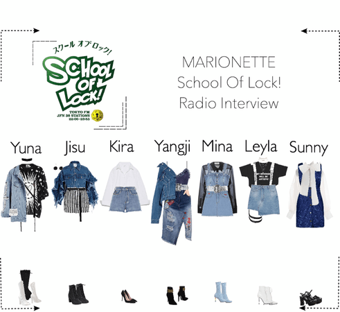 MARIONETTE (마리오네트) School Of Lock Radio Interview