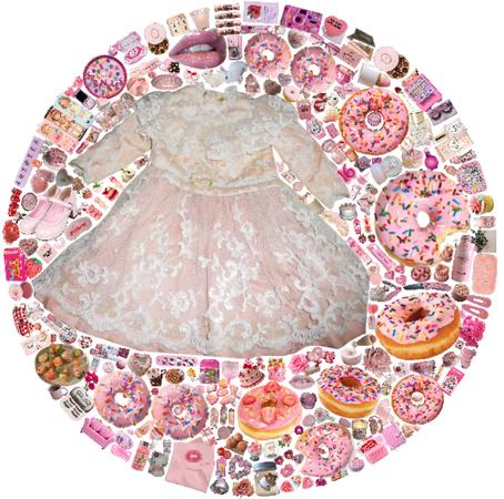 strawberry donut 🍩