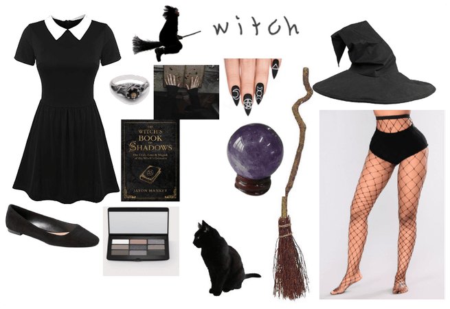 OUTFIT 23 HALLOWEEN WITCH