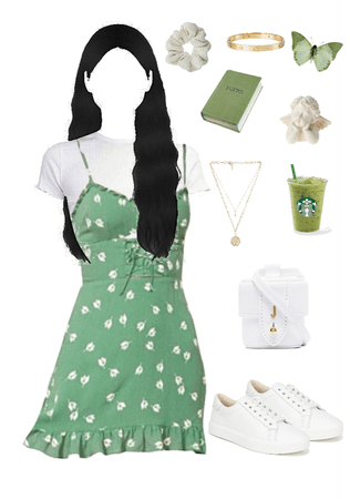 white and a bit of green