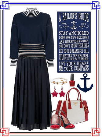 Sailor's Guide—Red & Blue Challenge