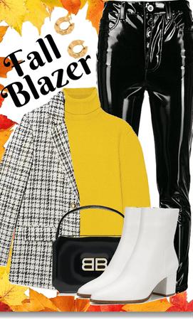 Fall blazer