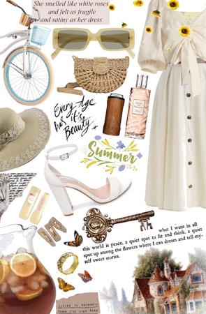 cottage core summer 🌞