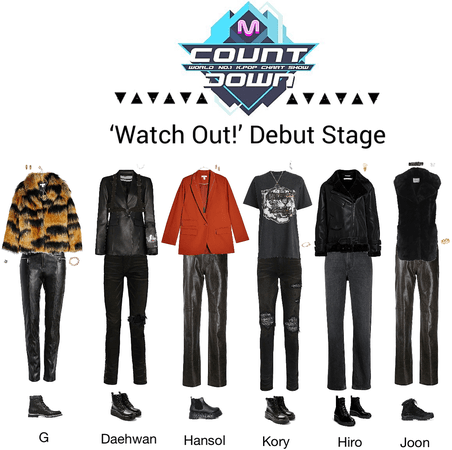 PREDATOR//Watch Out! Mnet Countdown Stage
