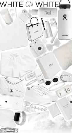 White on White🤍