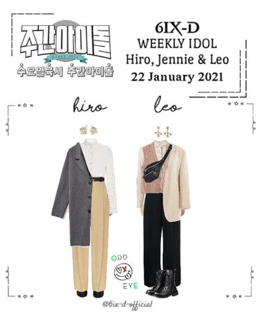 6IX-D [식스디] (HIRO & LEO) Weekly Idol 210122