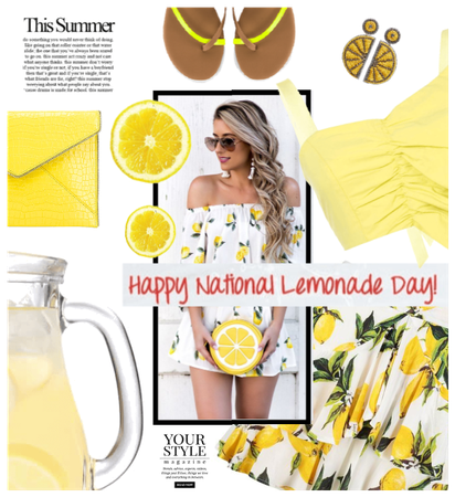 Nat. Lemonade Day 8/20