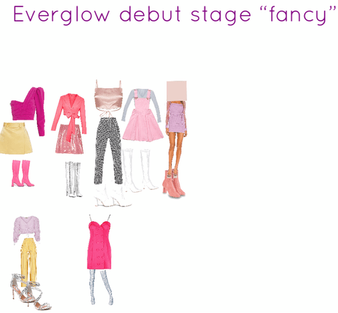 fancy debut stage