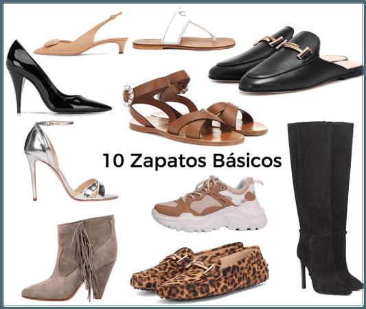 10 Zapatos Básicos