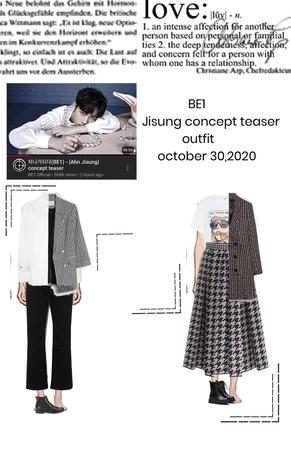 "BE1 - ""Ahn jisung"" concept teaser"