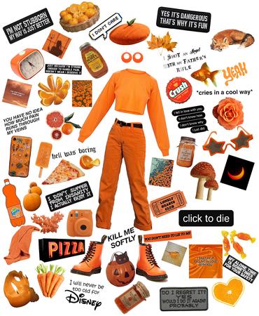 Orange aesthetic 🍊