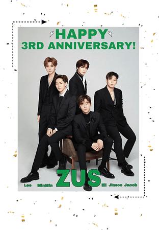 Zus// HAPPY 3RD ANNIVERSARY