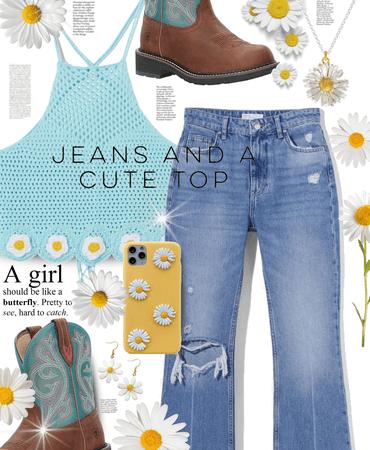 daisies girl 😇