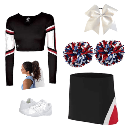 Christina cheer uniform