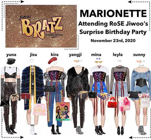 MARIONETTE (마리오네트) Attending RoSE Jiwoo's Surprise Birthday Party