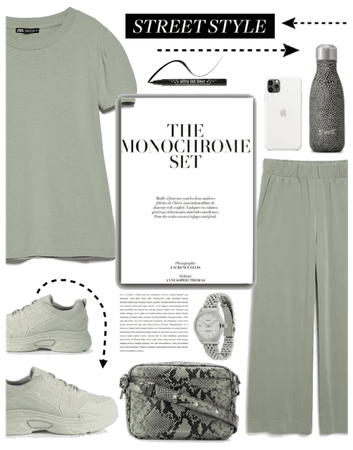Get The Look: Monochrome Set