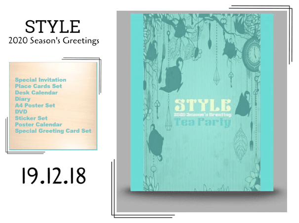 STYLE 2020 Season's Greeting 'Tea Party'