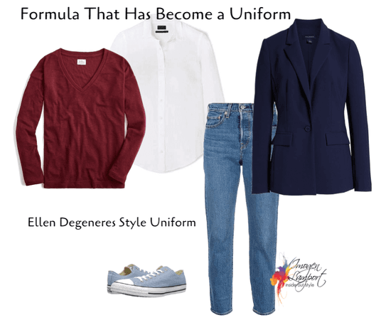 Ellen Degeneres Uniform