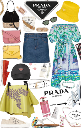 summer with prada