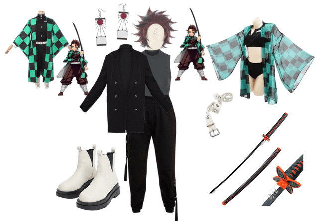 urban tanjiro cosplay inspiration