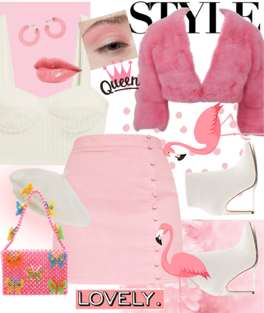 flamingo outfit🦩