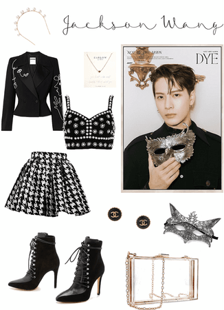 "GOT7 ""DYE"" Jackson Wang Version🖤"