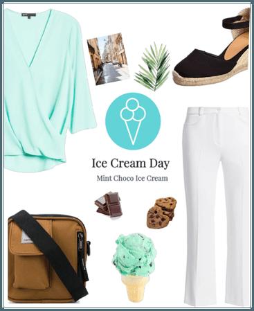 Mint Choco Ice Cream