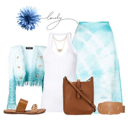 Lovely Blue: Tie Dye