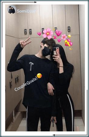 Somi&Jae Instagram story