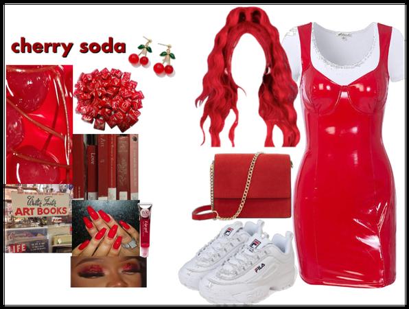 cherry red 🍒( •̀ ω •́ )✧