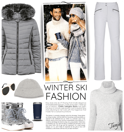 Winter Ski Fashion