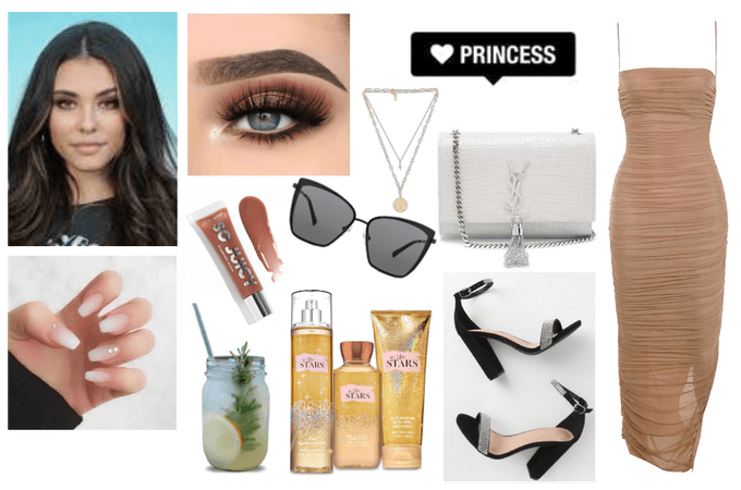 madison beer wedding guest outfit