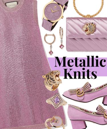 Metallic Knits