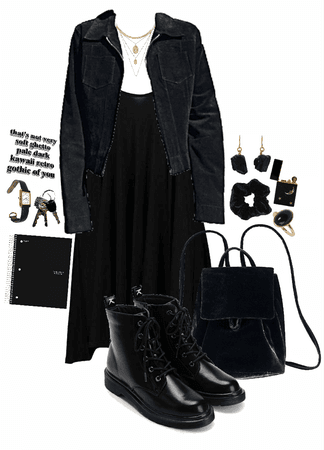 business casual gothic