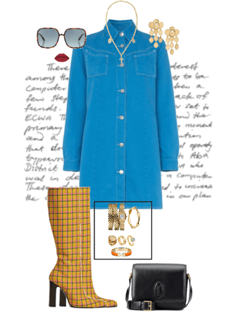 Vintage, 70's inspired Outfit #49