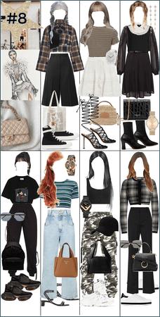 Outfit Idea - Fashion Idea - KPOP Idol 7 Members