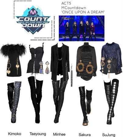 ACT5 MCountdown 'ONCE UPON A DREAM'