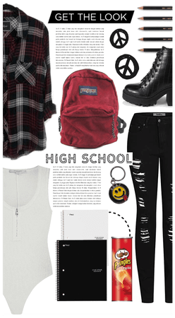 Back To School: Grunge Style