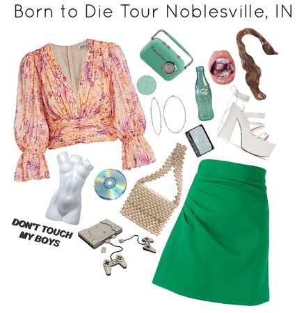Born to Die Tour Noblesville, IN
